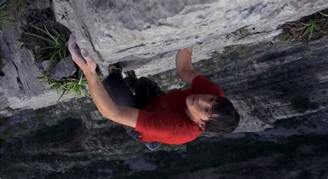 Red Epic Goes Free Solo Climbing With Daredevil Alex