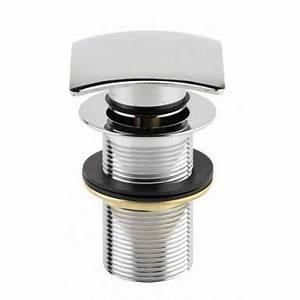 Bonde Lavabo Sans Trop Plein : bonde carr e design pop up lavabo laiton chrom sans trop ~ Dailycaller-alerts.com Idées de Décoration