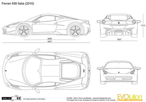 automotive blueprints cartype