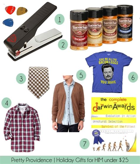 holiday gifts for him under 25 pretty providence