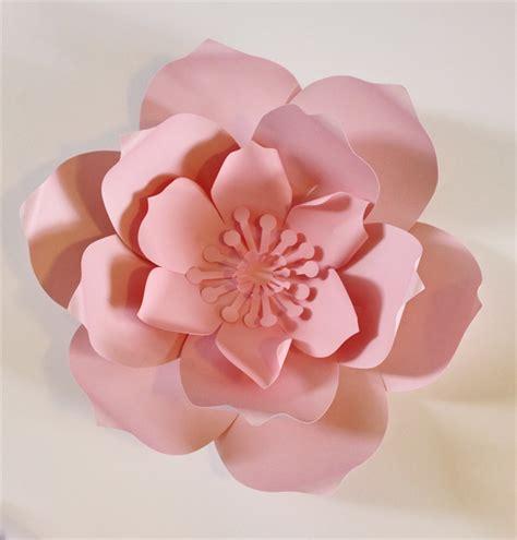 Azuzena Flower Template paper flower centerpiece paper flower wall large paper