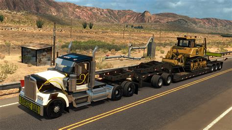 american truck simulator american truck simulator heavy cargo pack 187 free