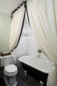 Staggering Clawfoot Tub Shower Curtain Ideas Decorating