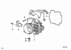 Bmw 540i Screw  M6x25  System  Engine  Intake