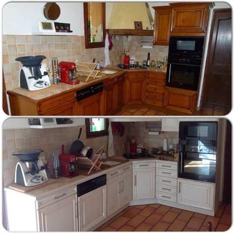 cuisine en bois h黎re réalisations moderniser une cuisine en bois foncé aix en provence