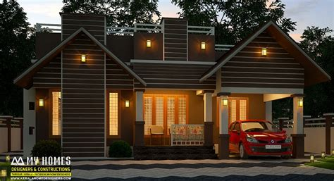 square feet single floor  cost modern home design