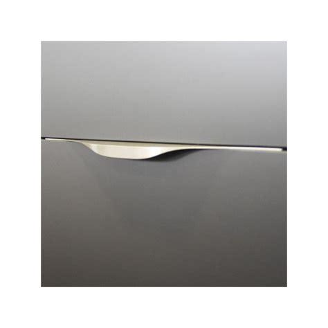 poignee de porte cuisine poignée de meuble cuisine look inox tirette vague