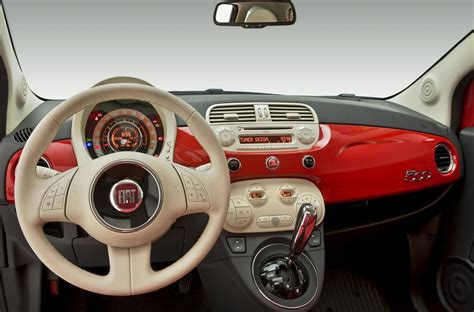 Fiat Interior Photos by Fiat 500 Interior Automatic Wallpapers Desktop Http