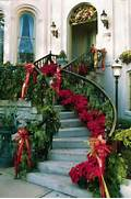 Movie Style Glamor Results From Staircase Garlands And Poinsettia Trim Get Inspired With 10 Cheerful Christmas Outdoor Decorations Ice Christmas Decorations For Outdoors 27 Cool And Fun Christmas 95 Amazing Outdoor Christmas Decorations DigsDigs