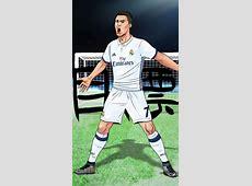 Los jugadores del Real Madrid en versión 'manga'