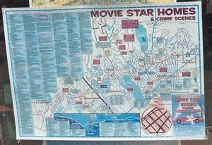 Hollywood Movie Star Homes Map