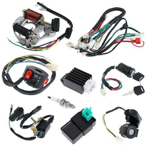 cdi cc wire harness assembly wiring set atv