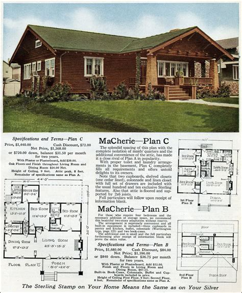 sterling macherie house plans arts crafts