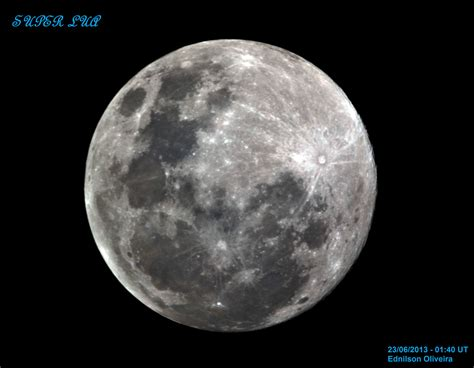 'super Moon' Images From Around The World, June 2013
