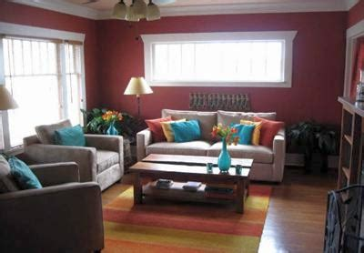 spicy wall color in a mediterranean room color scheme