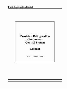 Refrigeration Compressor Manual