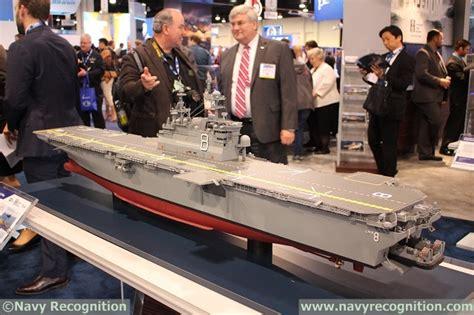 Video: Future USS Bougainville LHA-8 Design by Huntington ...