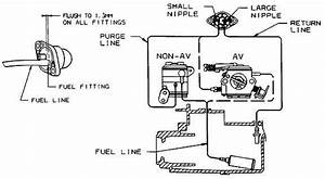 Diagram For Routing New Fuel Lines On Craftsman 358 350462
