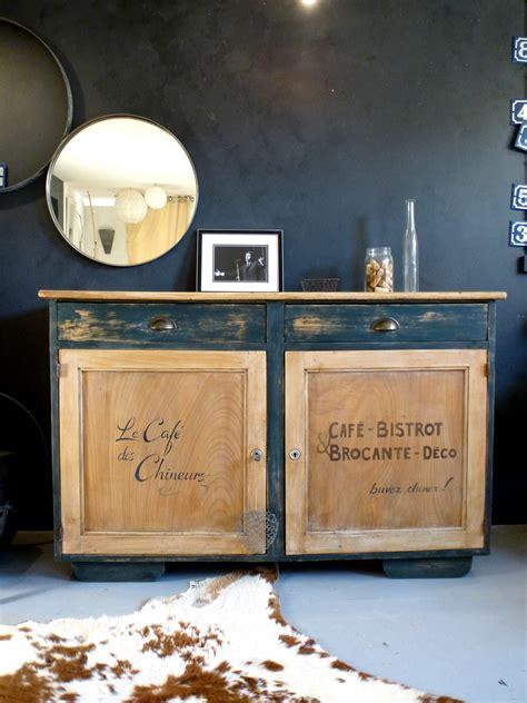table de cuisine but magasin ensemble d un buffet et d une table en bois esprit bistrot
