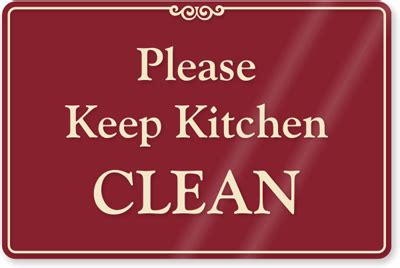 Kitchen Clean Up Signs by Why Are Office Kitchens So Putrid