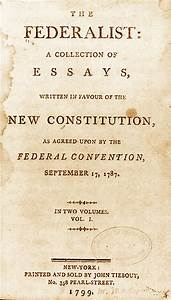 Federalist papers summary