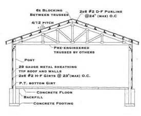 Pole Barn Plans How To Build Diy Blueprints Pdf Download
