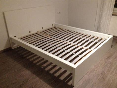 Betten Ikea 160x200 by Ikea Malm Bett Wei 223 160x200 Inkl Lattenrost Neuwertig