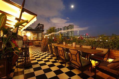 vietnam french restaurant  shenzhen roof top bar