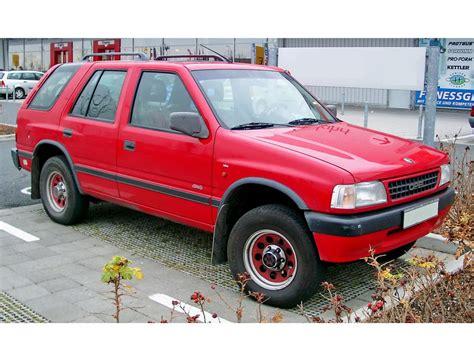 Opel Era by Opel Frontera рестайлинг 1995 1996 1997 1998 Suv 1
