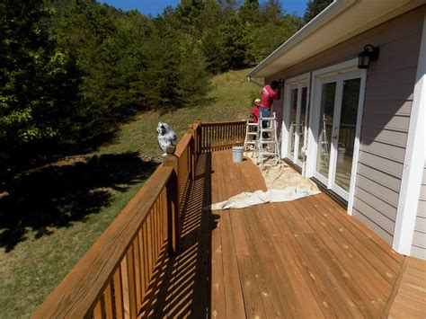 deck cleaning  sealing services