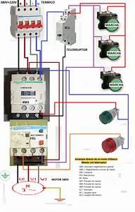 Resultado De Imagen Para Esquema Electrico De Motor Marcha