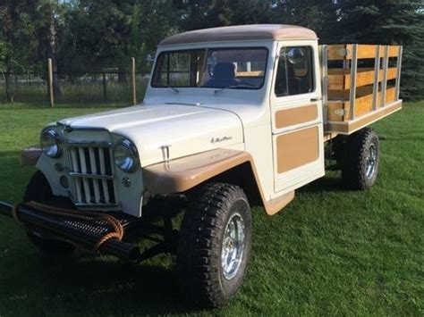willys jeep pickup truck restored classic willys willys   sale