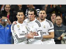 Ronaldo on his relationship with Bale and Benzema at Real