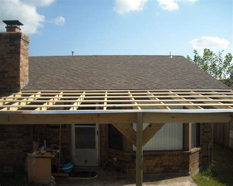 Patios Ideas Roof Over Patio Ideas Flat Roof Overhang