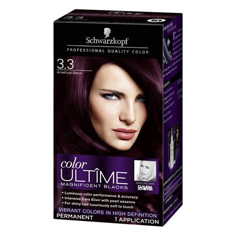 Box Hair Dye by Schwarzkopf Color Ultime Magnificent Hair Coloring