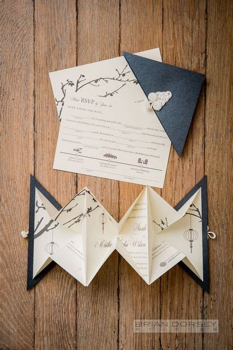 Les 25 plus belles idées d origami pour votre mariage