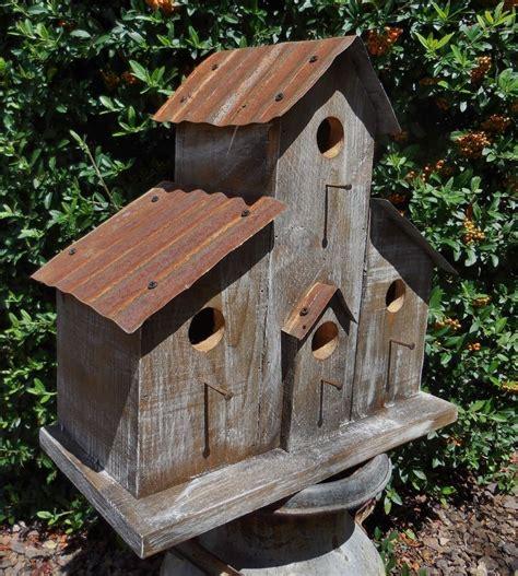 barn birdhouse rustic birdhouse old west bird house