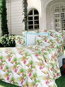 Linge De Maison Descamps : linge de lit descamps florida mari e collection de ~ Melissatoandfro.com Idées de Décoration