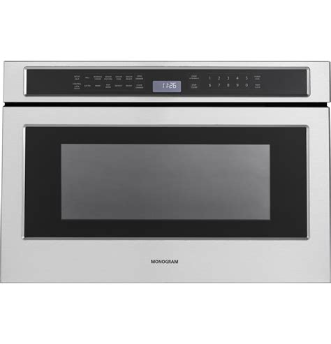 ZWL1126SJSS  Monogram 12 Cu Ft Drawer Microwave The