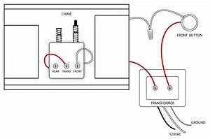 single doorbell wiring diagram wiring diagram and With chime wiring diagram