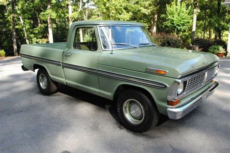 purchase used 1970 ford f100 ranger in clarkesville