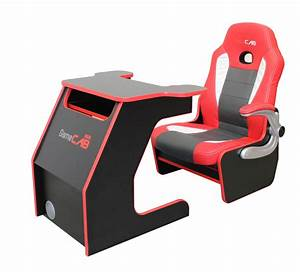 GameCAB Racer Chair Desk Liberty Games