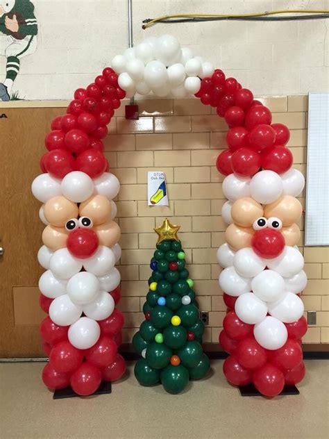 christmas balloons ideas  pinterest balloon