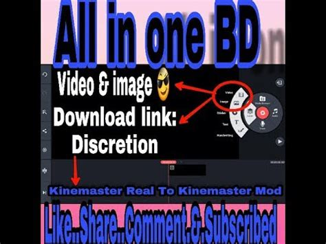 how to kinemaster mod v3 apk tutorial all in one bd