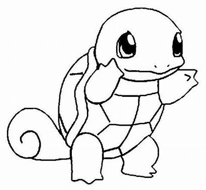 Coloring Pokemon Turtle Pages Unique Colouring Lineart