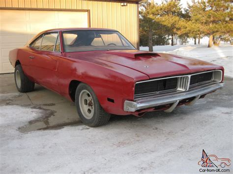 1969 dodge charger 4 speed project posi factory with white interior 68 70