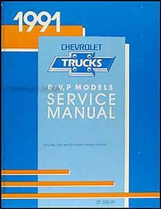 1991 Chevy Suburban Blazer R  V Pickup Wiring Diagram