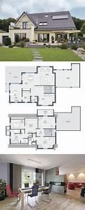 Haus Bauen Ideen Grundriss : extravagantes einfamilienhaus mit satteldach architektur ~ Orissabook.com Haus und Dekorationen
