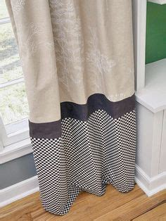 1000 ideas about color block curtains on