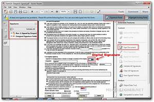 How to digitlly sign a pdf document using free software for Sign documents adobe pdf